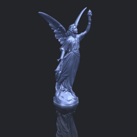 17_TDA0202_Statue_01_-88mmB00-1.png Télécharger fichier STL gratuit Statue 01 • Design à imprimer en 3D, GeorgesNikkei