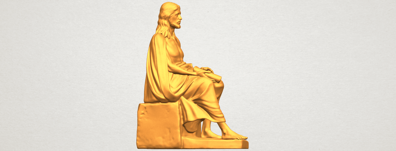 A07.png Download free STL file Jesus 06 • 3D printer object, GeorgesNikkei
