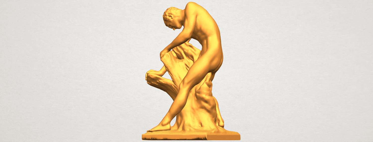 A02.png Download free STL file Milo of Croton • 3D printing design, GeorgesNikkei