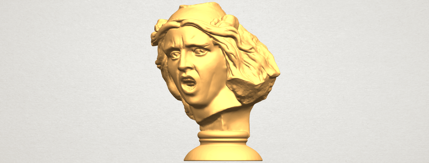 A02.png Download free STL file Bust of Shock • 3D print object, GeorgesNikkei