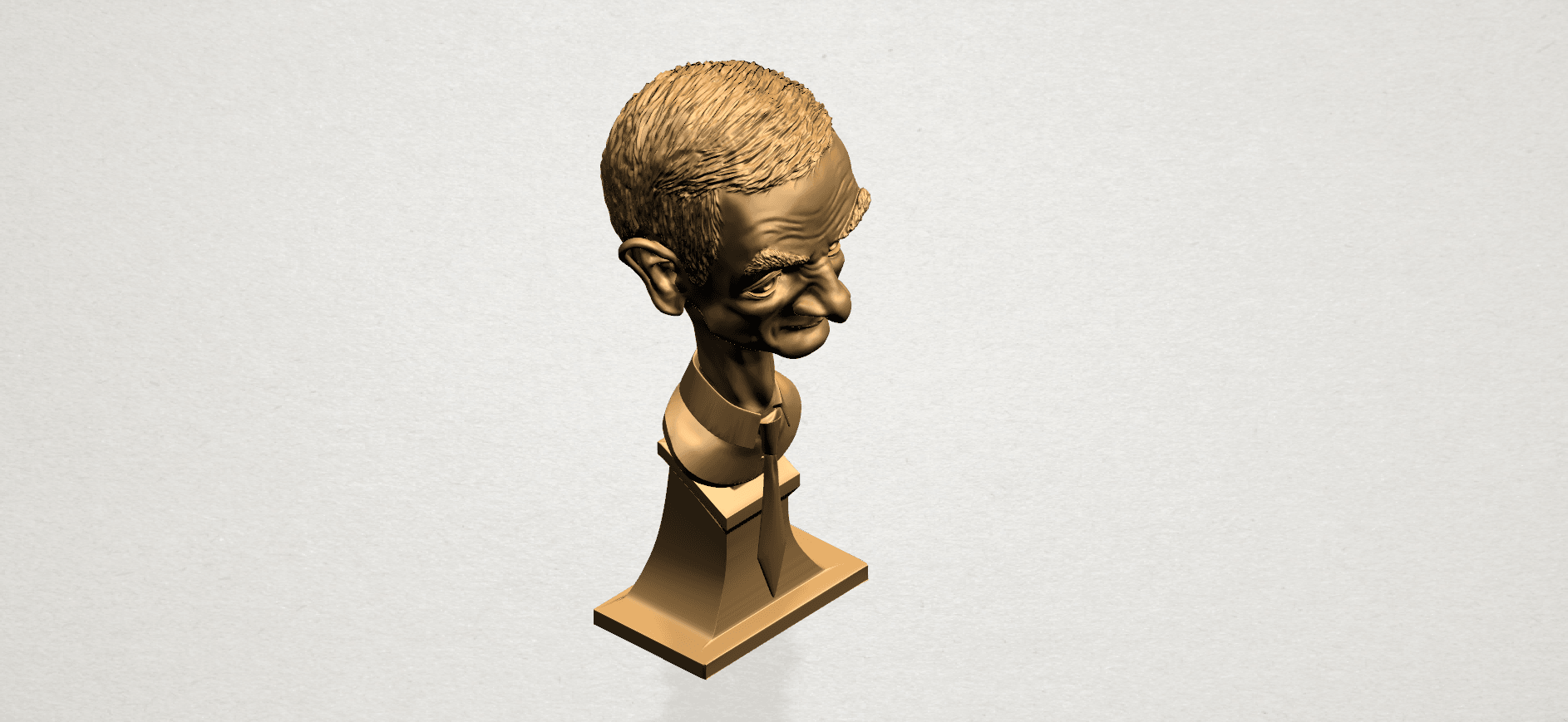 Sculpture of a man - B05.png Download free STL file Sculpture of a man 01 • 3D printable object, GeorgesNikkei