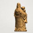 Fook (Fook Look Sao) 80mm - A05.png Download free STL file Fook (Fook Look Sao) • 3D printer template, GeorgesNikkei