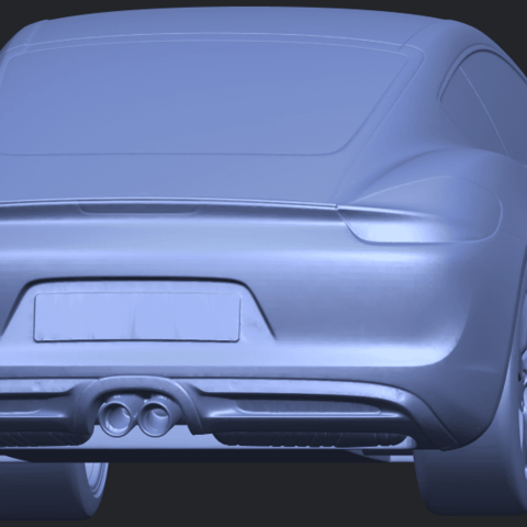 16_TDA0304_Porche_01_Length438mmB04.png Download free STL file Porche 01 • 3D printable object, GeorgesNikkei