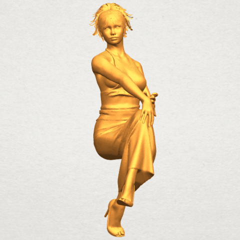 A04.png Download free STL file Naked Girl H09 • 3D printing model, GeorgesNikkei