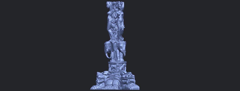 09_Thai_Elephant_Tower_80mm_-_A01B07.png Télécharger fichier STL gratuit Tour de l'éléphant thaïlandais • Modèle pour impression 3D, GeorgesNikkei