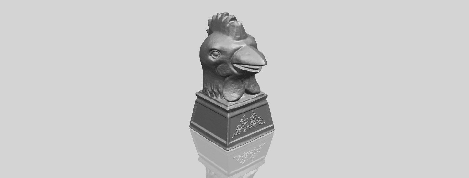 18_TDA0517_Chinese_Horoscope_of_Rooster_02A00-1.png Download free STL file Chinese Horoscope of Rooster 02 • 3D printable object, GeorgesNikkei