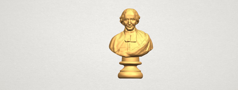 TDA0620 Sculpture of a head of man 02 A01.png Télécharger fichier STL gratuit Sculpture d'une tête d'homme 02 • Design à imprimer en 3D, GeorgesNikkei
