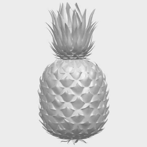 15_TDA0552_PineappleA01.png Download free STL file Pineapple • 3D printer design, GeorgesNikkei