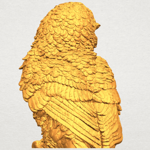 A08.png Download free STL file Owl 04 • 3D printable object, GeorgesNikkei