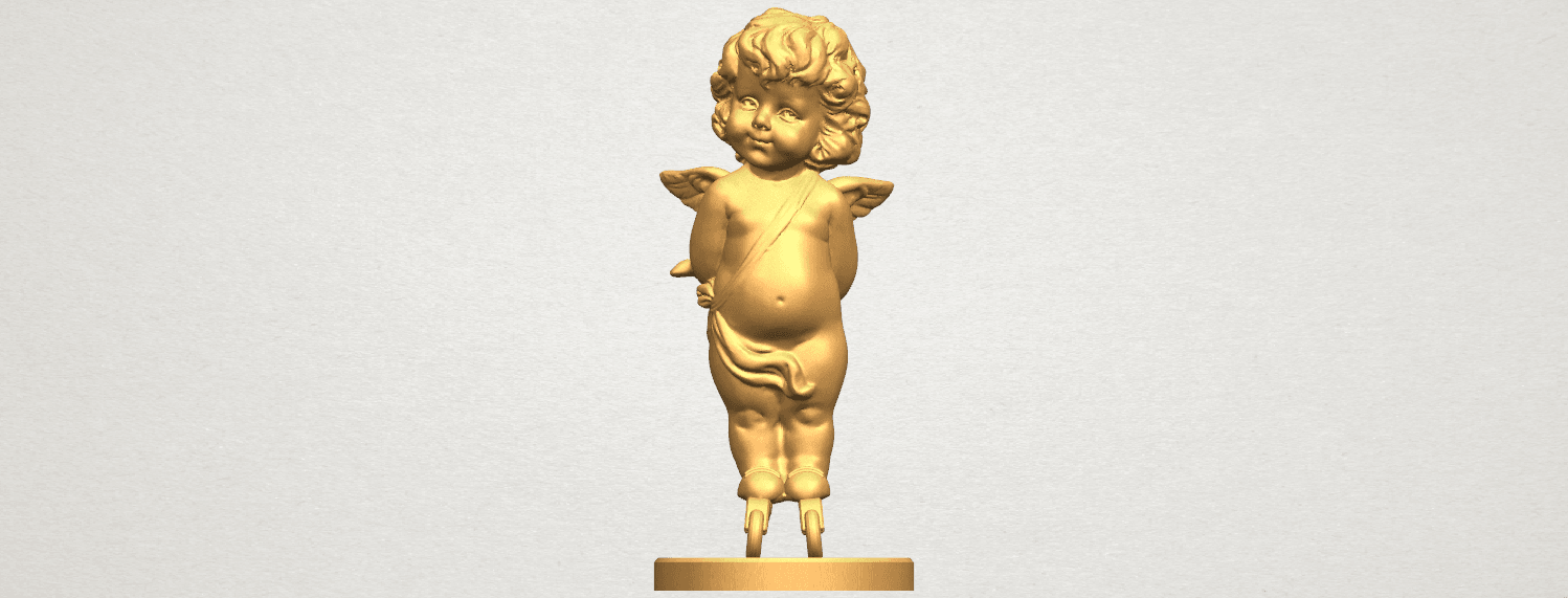 TDA0478 Angel Baby 01 ex800 A01.png Download free STL file Angel Baby 01 • 3D print template, GeorgesNikkei
