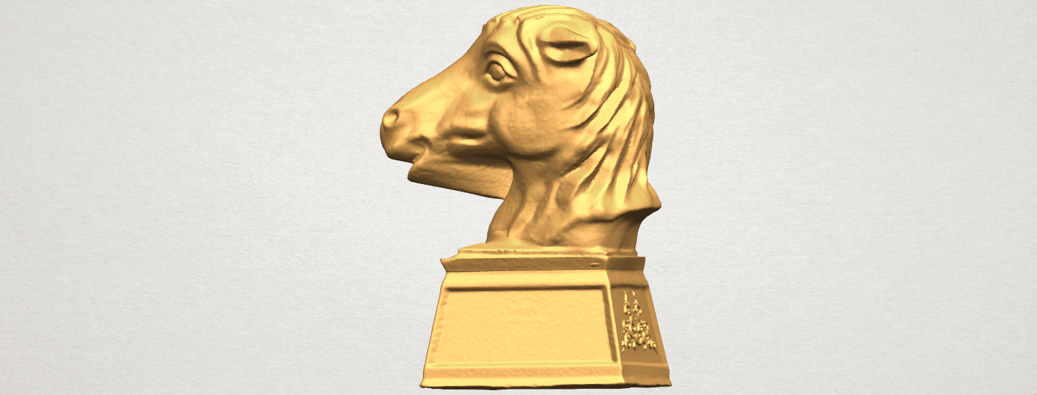 TDA0514 Chinese Horoscope of Horse 02 A03.png Download free STL file Chinese Horoscope of Horse 02 • 3D printer model, GeorgesNikkei