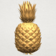 TDA0552 Pineapple A02.png Download free STL file Pineapple • 3D printer design, GeorgesNikkei
