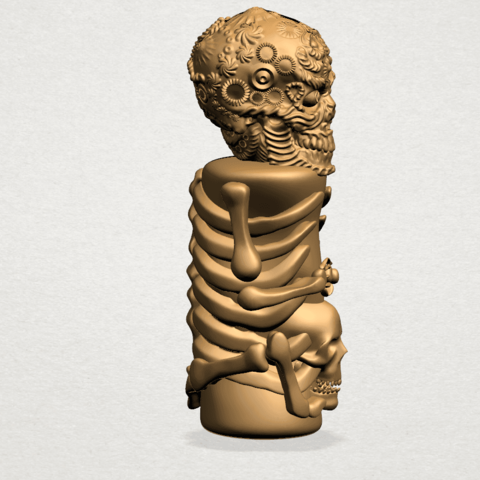 Skelecton - B06.png Download free STL file Skelecton • 3D printer object, GeorgesNikkei