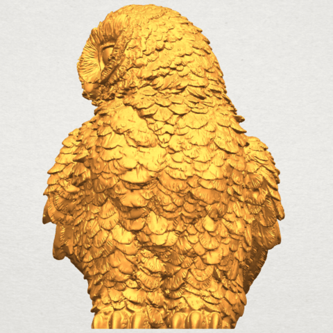 A04.png Download free STL file Owl 04 • 3D printable object, GeorgesNikkei