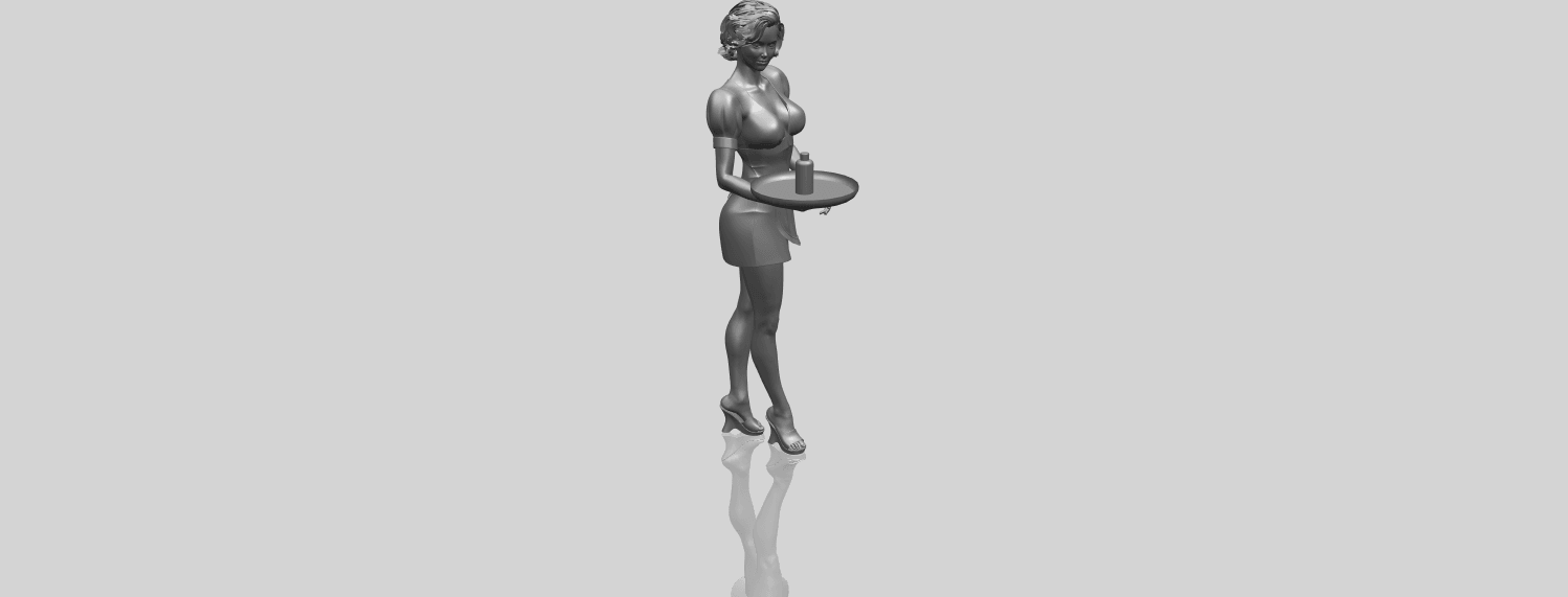 07_TDA0475_Beautiful_Girl_09_WaitressA00-1.png Download free STL file Beautiful Girl 09 Waitress • 3D printable object, GeorgesNikkei