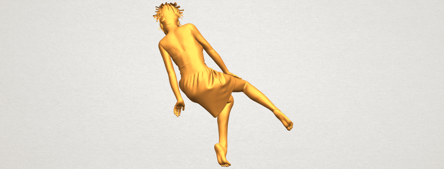 A06.png Download free STL file Naked Girl E06 • 3D printer object, GeorgesNikkei