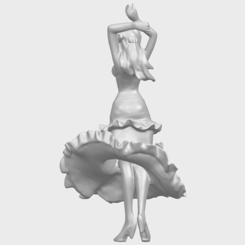 23_Girl_with_Dress_80mm-A09.png Download free STL file Girl with Dress • Object to 3D print, GeorgesNikkei