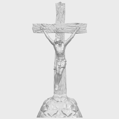 12_TDA0229_Jesus_with_cross_ii_88mmA01.png Download free STL file Jesus with cross 02 • Template to 3D print, GeorgesNikkei