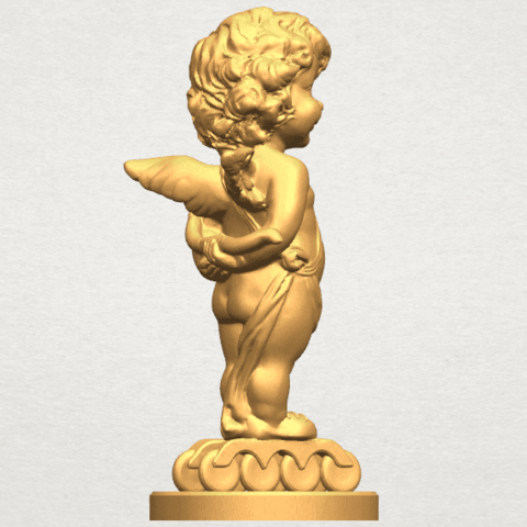 TDA0478 Angel Baby 01 A05.png Download free STL file Angel Baby 01 • 3D print template, GeorgesNikkei