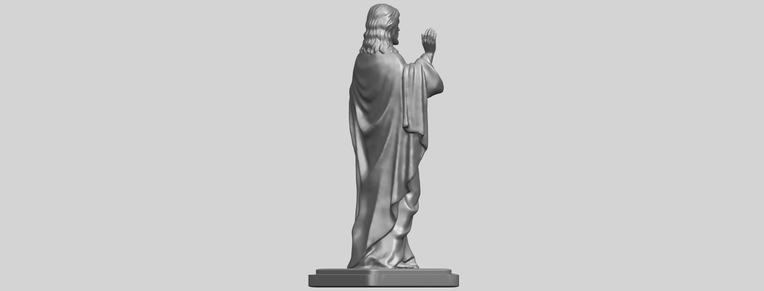 19_TDA0237_Jesus_vA08.png Download free STL file Jesus 05 • 3D print object, GeorgesNikkei