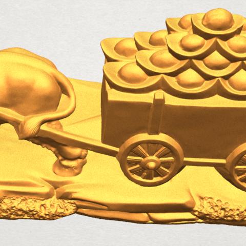 TDA0315 Golden Car A10.png Download free STL file Golden Car • 3D printer template, GeorgesNikkei