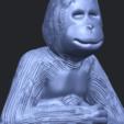09_TDA0606_ChimpanzeeA10.png Télécharger fichier STL gratuit Chimpanzé • Design imprimable en 3D, GeorgesNikkei