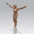 TDA0230 Jesus (i) A01.png Download free STL file Jesus 01 - top • Object to 3D print, GeorgesNikkei
