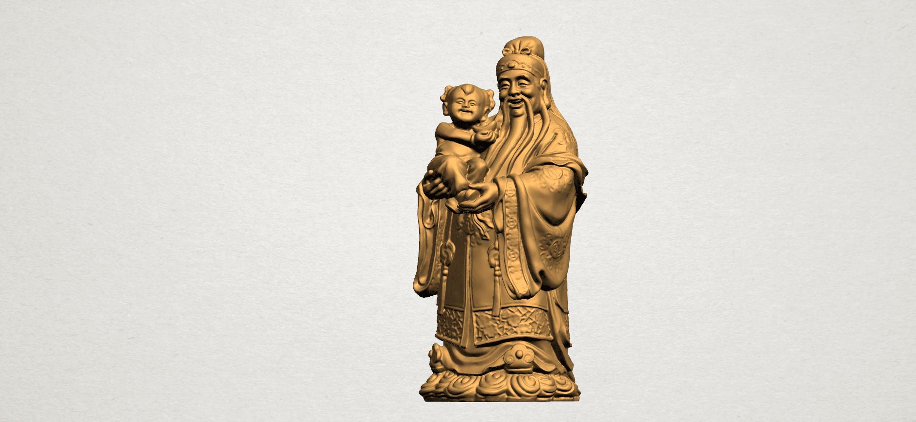 Fook (Fook Look Sao) 80mm - A01.png Download free STL file Fook (Fook Look Sao) • 3D printer template, GeorgesNikkei