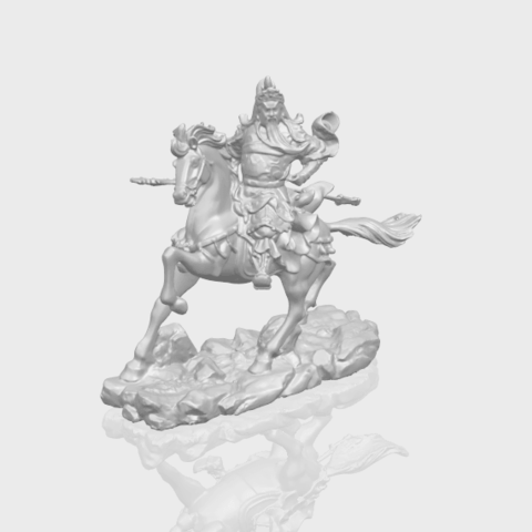 21_TDA0331_Guan_Gong_ivA00-1.png Download free STL file Guan Gong 04 • Template to 3D print, GeorgesNikkei