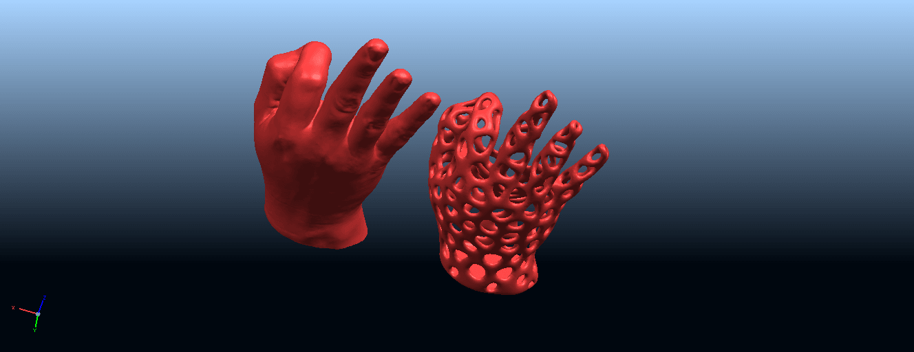 B04.png Download free STL file Voronoi Hand • Object to 3D print, GeorgesNikkei