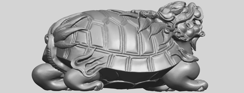 01_TDA0333_Dragon_TortoiseA06.png Télécharger fichier STL gratuit Tortue dragon • Objet imprimable en 3D, GeorgesNikkei