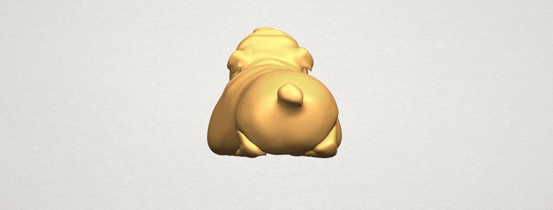 TDA0574 Bull Dog 07 A04.png Télécharger fichier STL gratuit Chien de taureau 07 • Objet imprimable en 3D, GeorgesNikkei