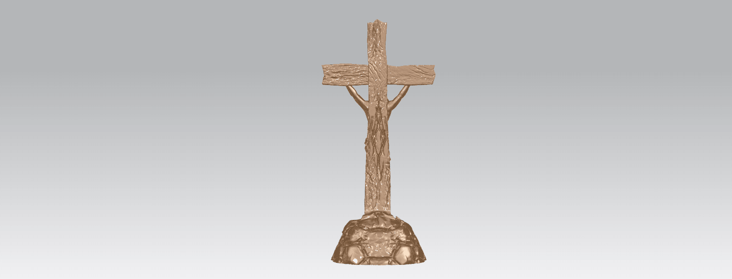 TDA0229 Jesus with cross (ii) A04.png Download free STL file Jesus with cross 02 • Template to 3D print, GeorgesNikkei