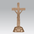 Télécharger fichier impression 3D gratuit Jésus avec croix 02, GeorgesNikkei