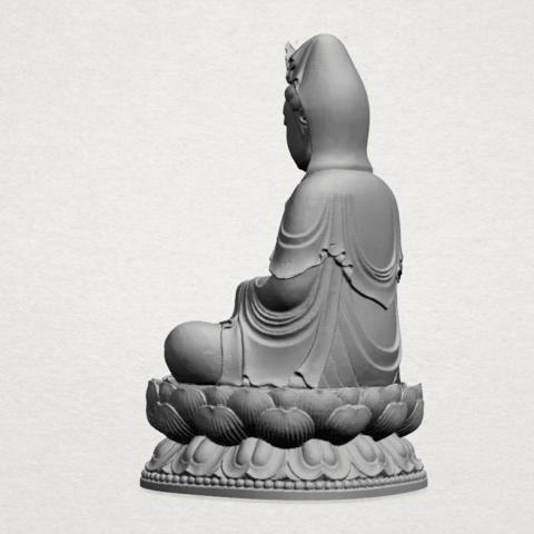 Bodhisattva Buddha - A03.png Download free STL file Avalokitesvara Bodhisattva 01 • 3D print object, GeorgesNikkei