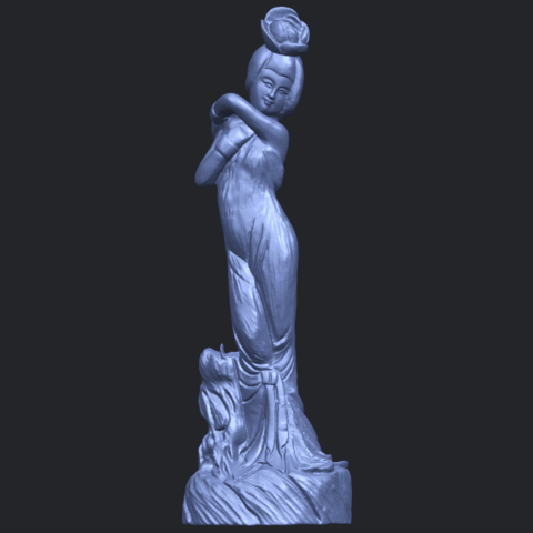 14_TDA0451_Fairy_06B01.png Download free STL file Fairy 06 • 3D printer model, GeorgesNikkei