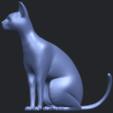 02_TDA0576_Cat_01B03.png Télécharger fichier STL gratuit Chat 01 • Modèle pour imprimante 3D, GeorgesNikkei