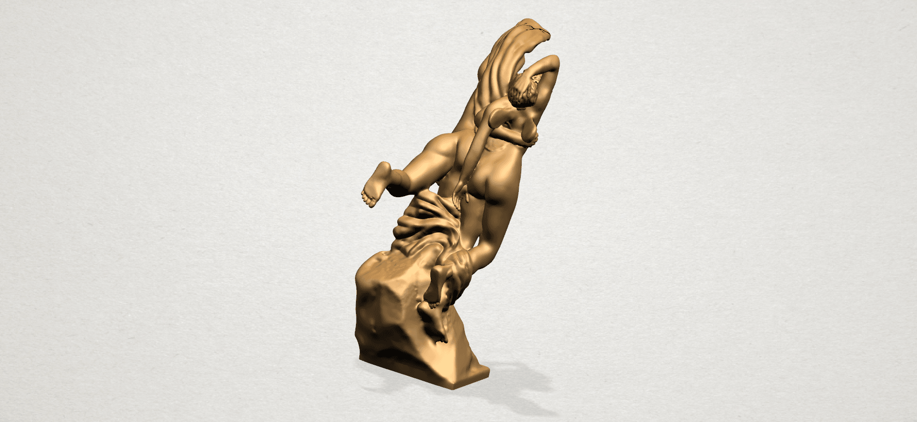 Cupid and Psyche - A15.png Download free STL file Cupid and Psyche • 3D printing template, GeorgesNikkei