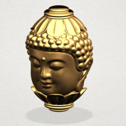 Download free 3D printer files Buddha - Head Sculpture, GeorgesNikkei