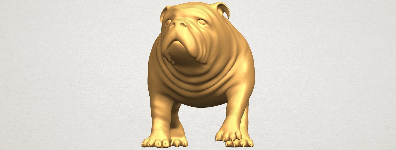 TDA0520 Bull Dog 01 A01 ex1000.png Télécharger fichier STL gratuit Chien de taureau 01 • Plan pour impression 3D, GeorgesNikkei