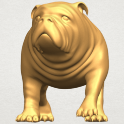 Bull Dog 01 3D printer file, Miketon