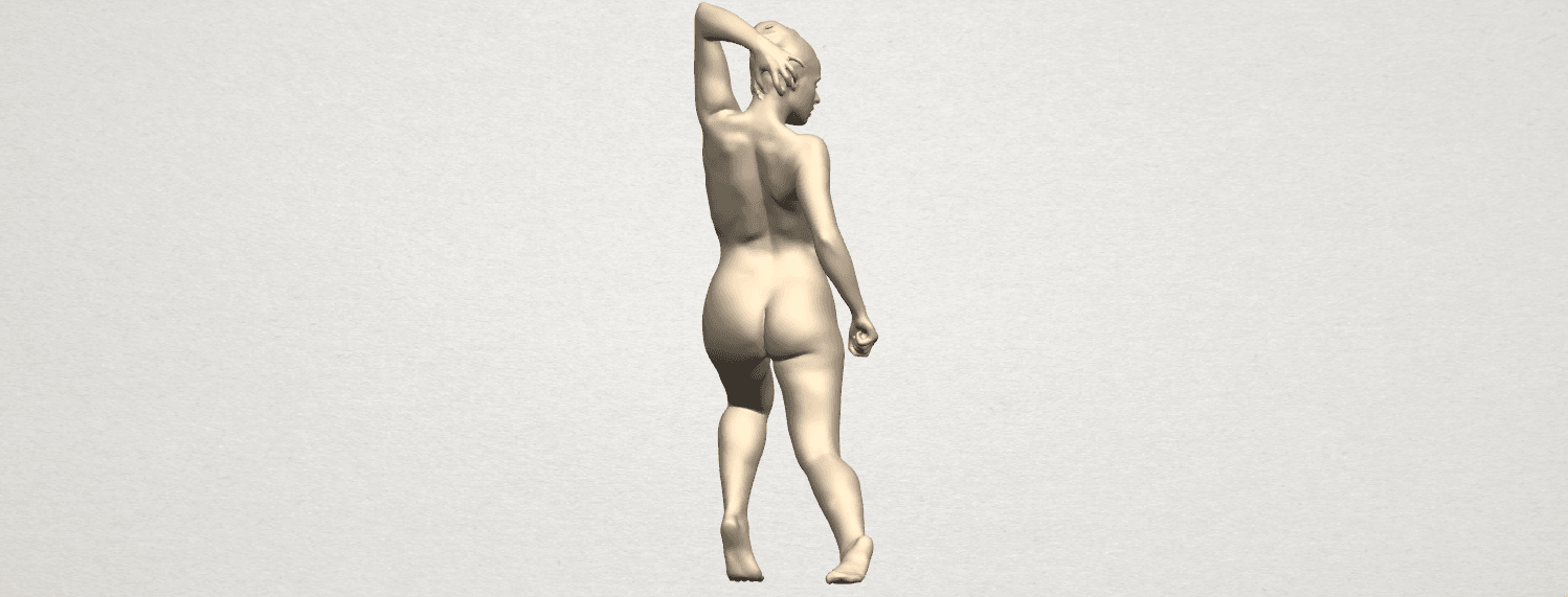 TDA0279 Naked Girl A06 06.png Download free STL file Naked Girl A06 • 3D printing template, GeorgesNikkei