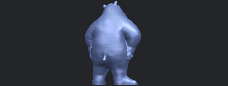 14_TDA0561_Bear_SeniorB07.png Télécharger fichier STL gratuit Bear Senior • Plan imprimable en 3D, GeorgesNikkei