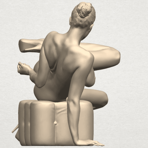 TDA0287 Naked Girl B04 08.png Download free STL file  Naked Girl B04 • 3D printable model, GeorgesNikkei