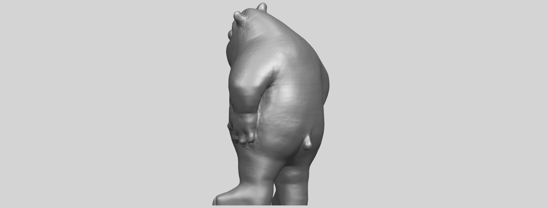 14_TDA0561_Bear_SeniorA05.png Télécharger fichier STL gratuit Bear Senior • Plan imprimable en 3D, GeorgesNikkei