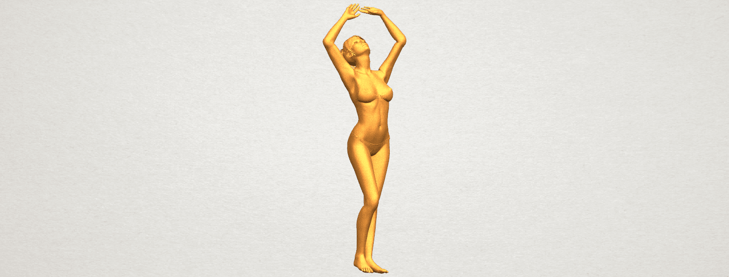 TDA0627 Naked Girl C03 A01.png Download free STL file Naked Girl C03 • 3D printer template, GeorgesNikkei