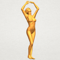 Free 3D printer designs Naked Girl C03, GeorgesNikkei