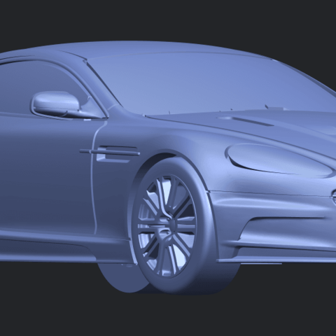 TDB008_1-50 ALLA08.png Download free STL file Aston Martin DBS • 3D printing object, GeorgesNikkei