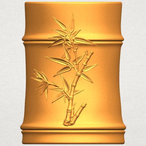 Free Stl Brush Pot Pencil Vase Cults
