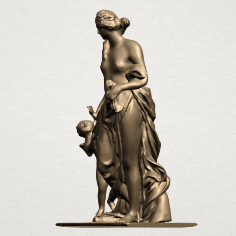 Mother and Child (v) A02.png Download free STL file Mother and Child  05 • 3D printable model, GeorgesNikkei